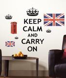 Keep Calm ウォールステッカー・壁用シール ウォールステッカー