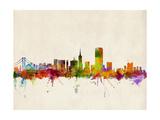 San Francisco City Skyline Posters by Michael Tompsett