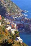 Europe, Italy, Vernazza. Cinque Terre Town of Vernazza, Italy Reproduction photographique par Kymri Wilt