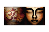 Buddha Spirit Pôsters por Christine Ganz