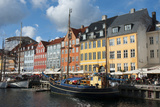 Crowds at Cafes and Restaurants, Nyhavn, Copenhagen, Denmark Photographic Print by Inger Hogstrom