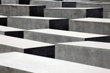 Memorial to the Murdered Jews of Europe, Berlin, Germany Reproduction photographique par Kymri Wilt