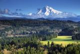 Mount Hood, Jonsrud Viewpoint, Sandy, Oregon, USA Photographic Print by Michel Hersen
