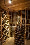 Bottle Cellar at Walla Walla Winery, Walla Walla, Washington, USA Reproduction photographique par Richard Duval