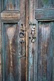 Door and Handle Detail, San Cristobal De Las Casas, Chiapas, Mexico Reproduction photographique par Brent Bergherm