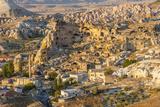 Aerial View of Cappadocia, Central Anatolia, Turkey Lámina fotográfica por Ali Kabas