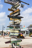 Iconic Street Sign in Key West Florida, USA Stampa fotografica di Chuck Haney