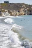Visitors Enjoying the Ocean, Avila Beach, California, USA Photographic Print by Cindy Miller Hopkins