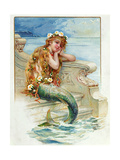 Little Mermaid, by Hans Christian Andersen (1805-75) Giclée-Druck von E.s. Hardy