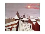 The Railway Giclee-trykk av Henri Rousseau