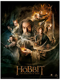 The Hobbit Desolation of Smaug Masterprint