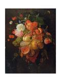 Fruit and Flowers Lámina giclée por Jan Davidsz. de Heem