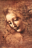 Female Head (La Scapigliata), c.1508 Prints by  Leonardo da Vinci