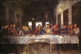 The Last Supper, c. 1498 Posters av  Leonardo da Vinci