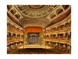 New Covent Garden Theatre, from Microcosm of London, 1810 by R Ackermann Giclee Print by T. & Pugin Rowlandson