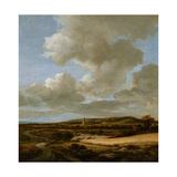 Landscape with Cornfield, 1660-69 Giclee Print by Jacob Isaaksz. Or Isaacksz. Van Ruisdael