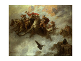 The Ride of the Valkyries Giclee Print by William T. Maud