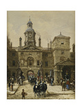 Horse Guards Parade Giclee Print by Louise J. Rayner
