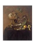 Still Life with a Nautilus Cup, 1632 Lámina giclée por Jan Davidsz. de Heem