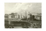 The British Residency at Hyderabad Giclee Print by Captain Robert M. Grindlay