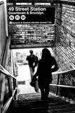 Subway Shadows Poster