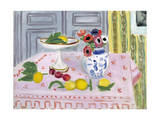 The Pink Tablecloth, 1925 ジクレープリント : アンリ・マティス