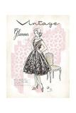Vintage Glamour Poster von Chad Barrett