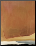 Sunset Corner, c.1969 Impressão montada por Helen Frankenthaler
