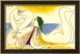 Sur la Plage, 1961 Art by Pablo Picasso