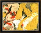 In the Sky Print by Willem de Kooning