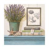 Seaside Lavender Poster von Arnie Fisk