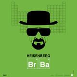 Heisenberg Poster Poster di  NaxArt