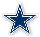 NFL Dallas Cowboys Vinyl Magnet Imã
