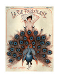 1920s France La Vie Parisienne Magazine Cover ジクレープリント