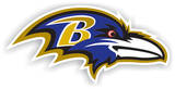 NFL Baltimore Ravens Vinyl Magnet Imã