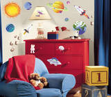 Outer Space Peel & Stick Wall Decals Autocollant mural