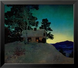 Dusk Art by Maxfield Parrish