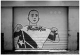Graffiti in San Juan Puerto Rico B/W Plakater