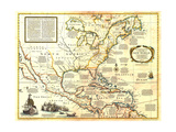 1977 Colonization and Trade in New World Kunstdruck von  National Geographic Maps