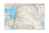 2002 Heart of the Middle East Pôsters por  National Geographic Maps