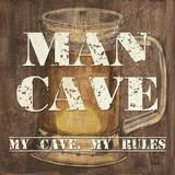 Man Cave I Plakater af Debbie DeWitt