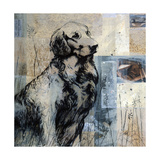 Loyal Companion Premium Giclee Print by Mary Calkins