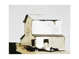 White Barn Giclée-Premiumdruck von Sandra Pratt