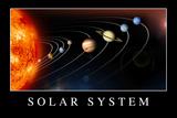 Solar System Poste Kunstdrucke