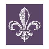 Louisiana Fleur De Lis (Cities) Poster