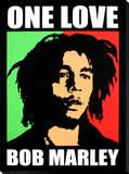 Bob Marley: One Love Toile tendue sur châssis