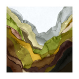 Color Field 2 Premium Giclee Print by  GI ArtLab