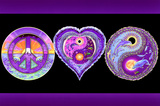 Peace Love and Happiness Prints