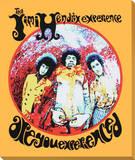 Jimi Hendrix: Are You Experienced Trykk på strukket lerret