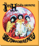 Jimi Hendrix: Are You Experienced Kunst op gespannen canvas